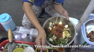 làm Bánh tráng trộn  Vietnamese Rice Paper Salad