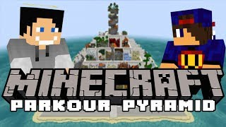 W GÓRĘ RAZ! Minecraft Parkour: Parkour Pyramid #9 w/ Undecided