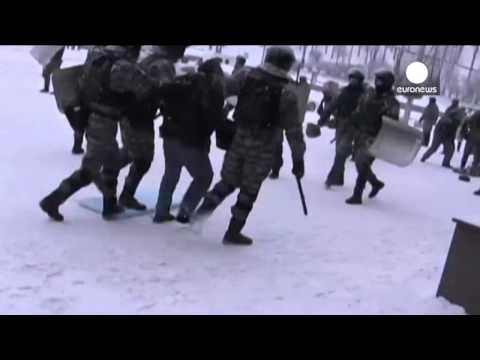 Inside Kiev Crackdown: Footage shows police firing on protesters - amateur video