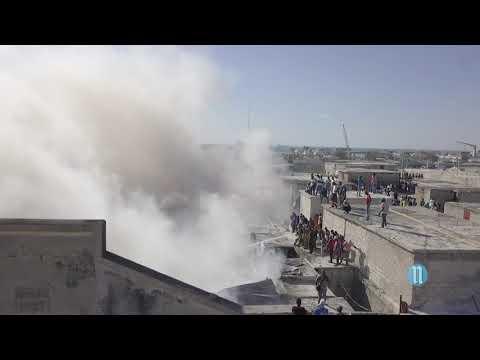 Le Marché Million appauvri par un incendie