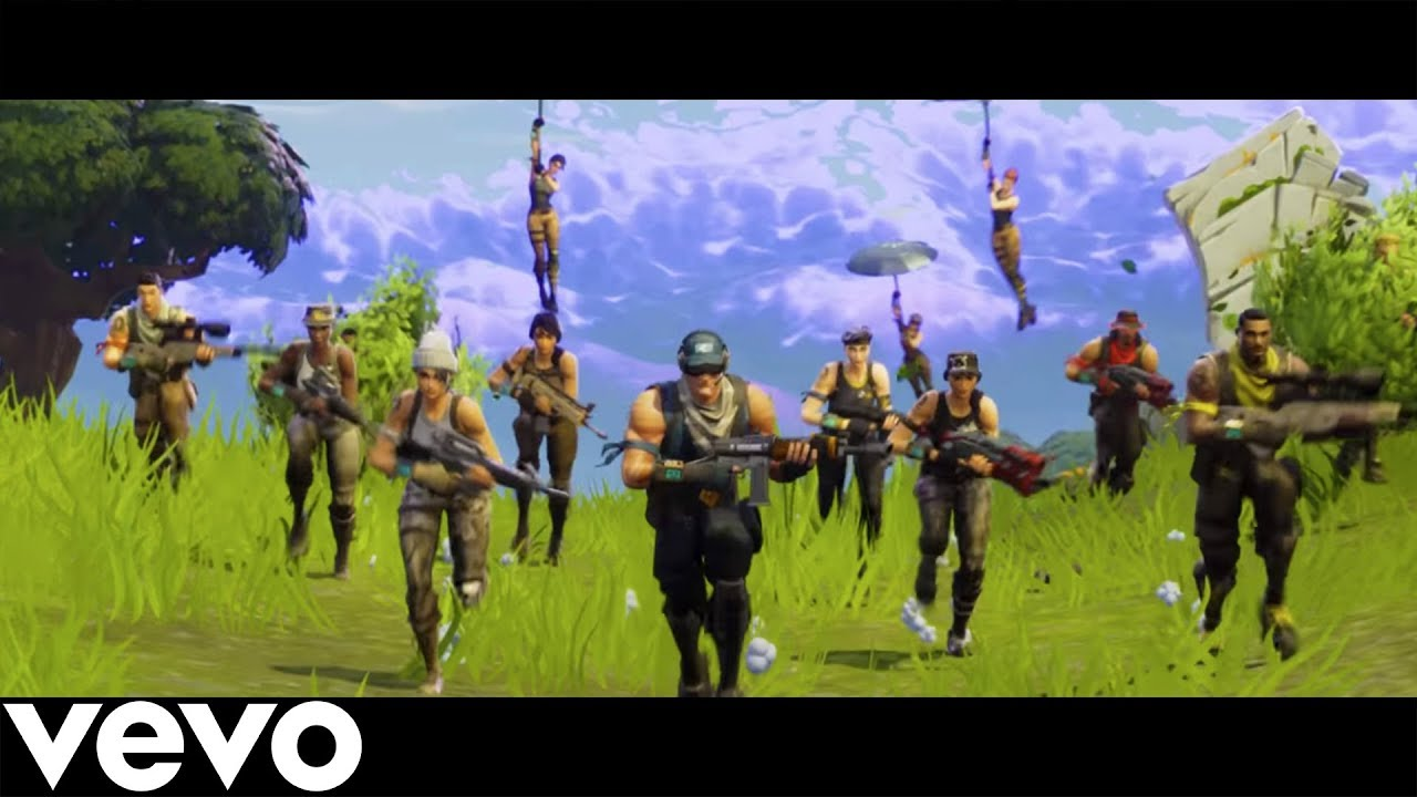 FORTNITE RAP! *MUSIC VIDEO!* | Fortnite Battle Royale