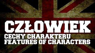 Człowiek cechy charakteru - features of characters nauka słów z języka angielskiego