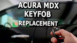 Acura MDX keyfob replacement and reprogramming DIY