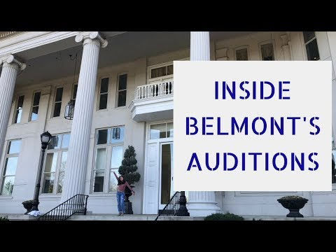 Inside Belmont University's Auditions