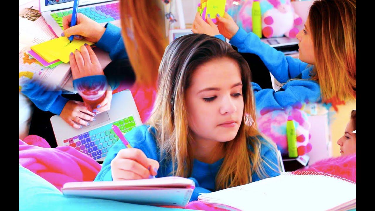 DIY STUDY HACKS FOR SCHOOL: Organization & Homework Tips ...