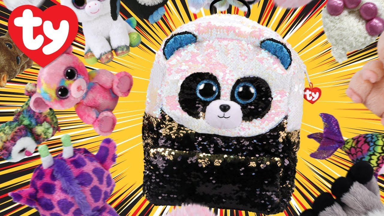 2716f8e6d0a How Many Beanie Boos Will Fit in a Bamboo Backpack  - YouTube