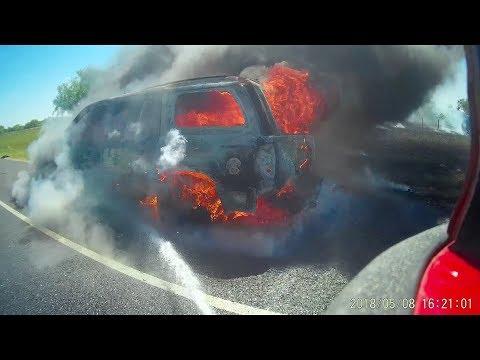 FireCam - Fully involved Vehicle Fire