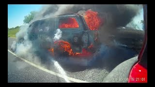 FireCam - Fully involved Vehicle Fire