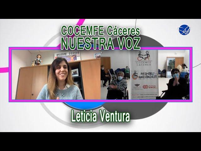 COCEMFE Nuestra Voz - Leticia Ventura