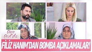 Filiz Hanım'dan bomba açıklamalar! - Esra Erol'da 2 Ocak 2018