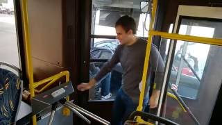 видео Турникет-трипод тумбовый ОМА-26.868 с картоприемником