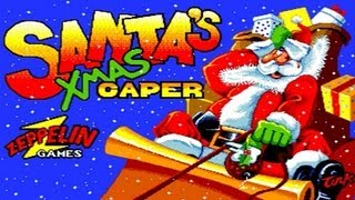 LGR - Santa's Xmas Capers - Spectrum, C64, PC, Amiga Game Review