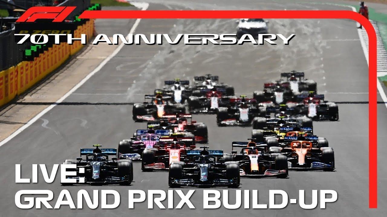 F1 LIVE: 2020 70th Anniversary Grand Prix Build-Up