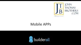 Mobile Apps Erstellen in Builderall by John Thomas Brothers App Builder Tool