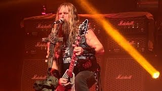 Black Label Society - Damn the Flood - San Francisco 2014