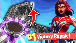 My Livestream Chat made me WIN this Fortnite game... Launch Pad CLUTCH! (Fortnite Moments)
