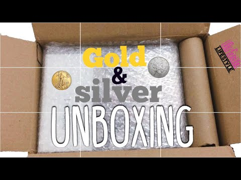 "Gold unboxing "" budgeting"" why I be gold and silver"