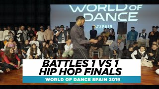 BATTLES 1 VS 1 POPPIN FINALS | FRONTROW | World of Dance Spain Qualifier 2019 | #WODSP19