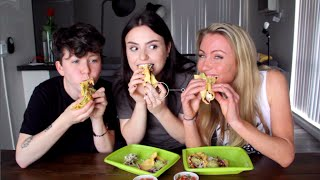 MUKBANG: AmandasChronicles & Amy Ordman eat my TACO?? [UNEDITED]