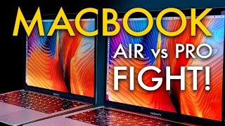 MacBook Air vs. MacBook Pro 2019
