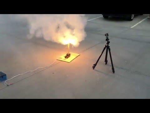 SDSU Rocket Project 2016 Cryo Test