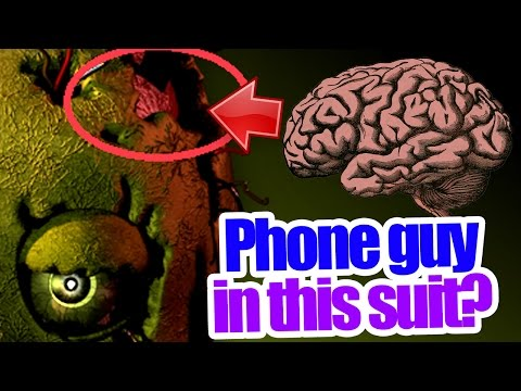 Phone guy's corpse is in this suit? Five nights at freddy's 3 theory from YouTube · Duration:  2 minutes 33 seconds