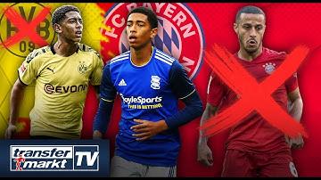 Schnappt Bayern dem BVB Talent Bellingham weg? – Thiago vor Bayern-Abgang | TRANSFERMARKT
