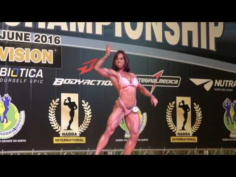 Rosana Leite – Competitor No 148 - Miss Figure Masters - Prejudging - NABBA World 2016