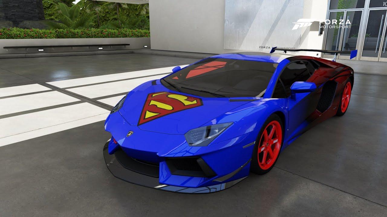 Superman Car Game