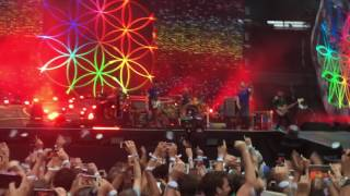 Coldplay - Opening + A Head Full Of Dreams - Live 2017 - Stade De France - Night 1 - 15.07.2017 - 4K
