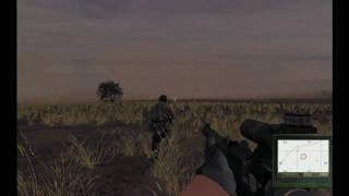 AVGANI ao amanhecer com NIM__Weather no ARMA 2