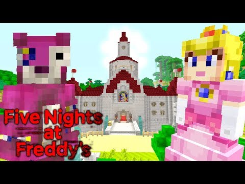 Minecraft | Five Nights At Freddy's | Peach's Castle! thumbnail