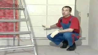 Укладка плитки на стену(Строительный портал http://donosvita.org/ представляет видео о том как укладывать плитку на стену., 2012-04-17T08:08:02.000Z)