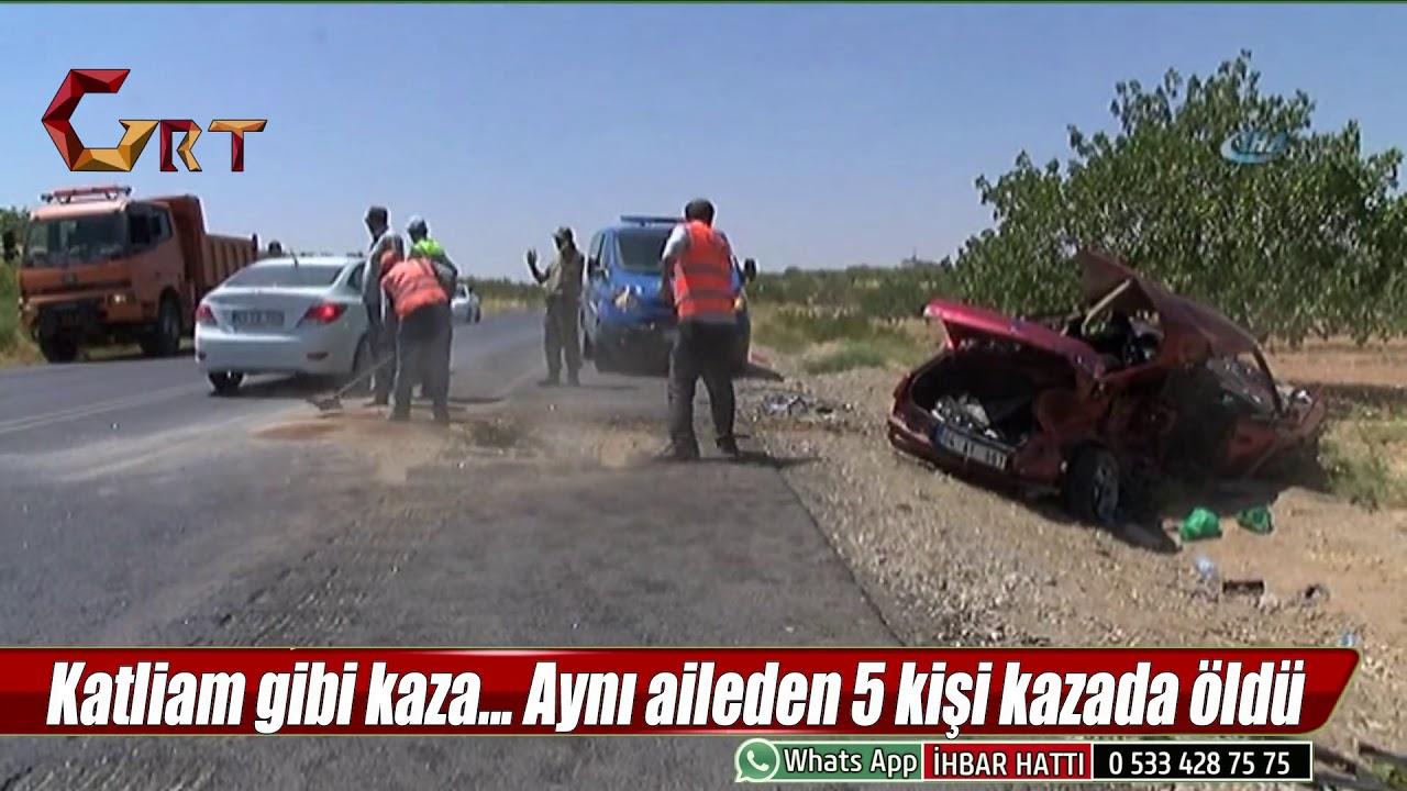 Katliam Gibi Kaza Ayni Aileden 5 Kisi Kazada Oldu