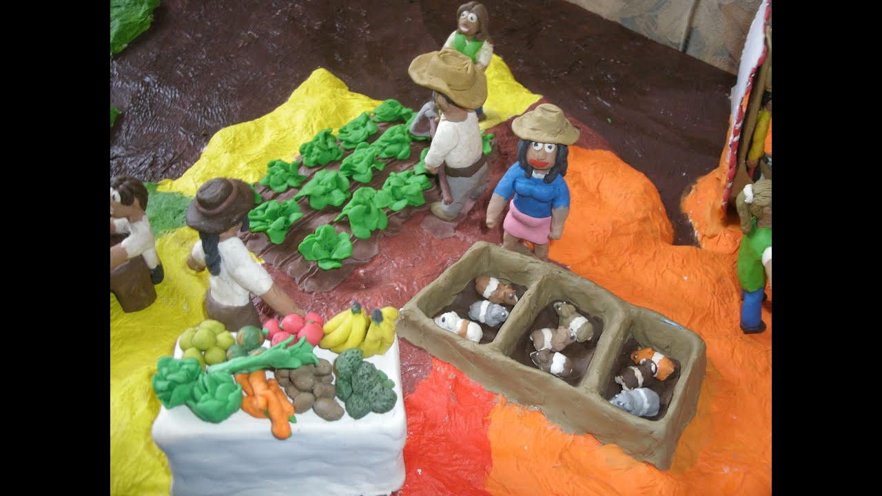 Como hacer una maqueta con plastilina youtube for Cocina urbana canaria