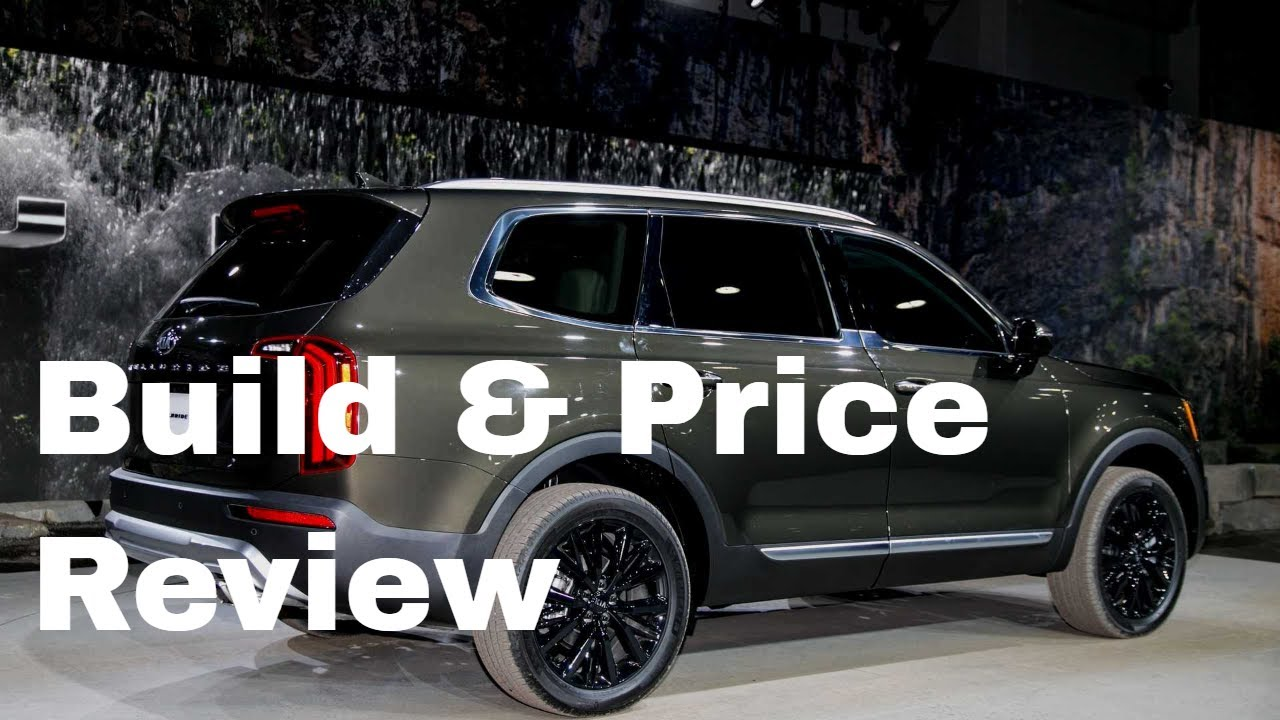 Build A Kia >> 2020 Kia Telluride Ex Awd Suv Build Price Review Colors Interior Cost Options Packages