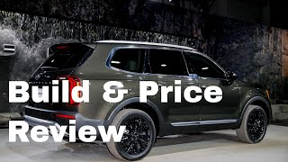 2020 Kia Telluride EX AWD SUV - Build & Price Review: Colors, Interior, Cost, Options, Packages