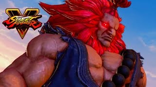 Street Fighter V - Character Introduction Series - Akuma