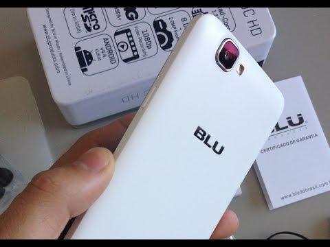 BLU Studio 5.0C HD Smartphone QuadCore 4G Ótimo Cu