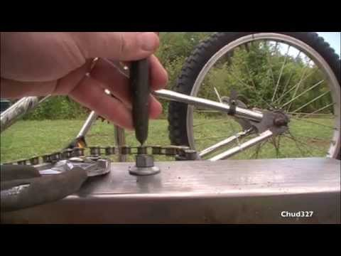 Shortening A Bike Chain Without A Chain Breaker Youtube