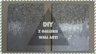 Z GALLERIE WALL DECOR DUPE!