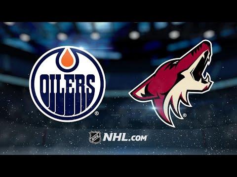 Dvorak, Raanta lead Coyotes past Oilers, 1-0