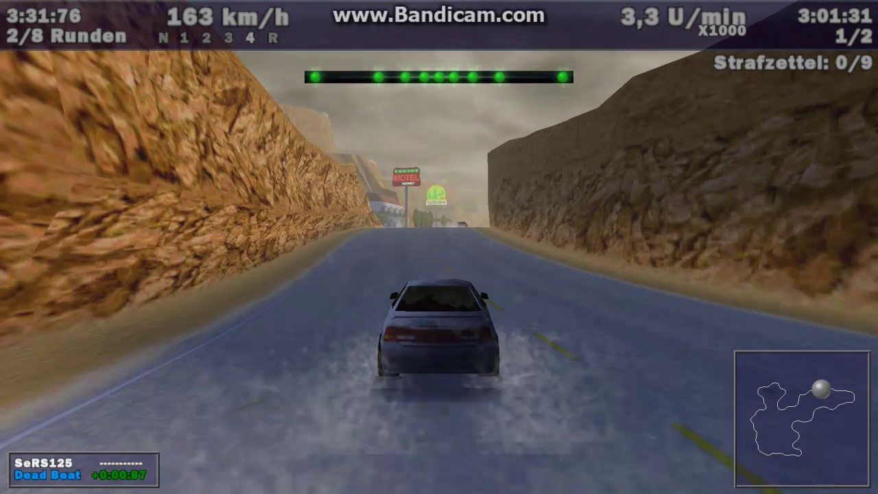 Need For Speed III: Hot Pursuit - HSV VT GTS vs Jaguar XJR-15 in Lost  Canyons (Weather)