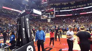 Walking around the Air Canada Centre