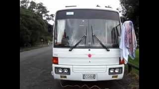 Lily And John Hit The Road In A Bus Motorhome In New Zealand