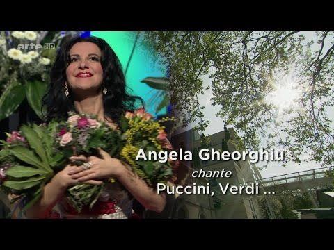 Angela Gheorghiu sings Puccini, Verdi  New Year's Eve 2014