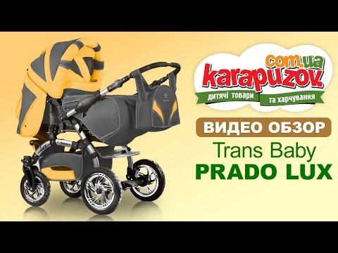 Универсальная коляска трансформер Prado Lux Trans Baby ( Прадо люкс)