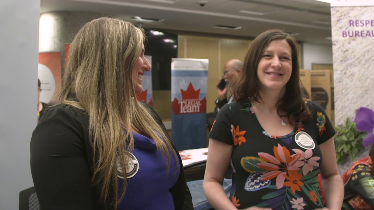 Mental health and wellness in the workplace at the 2018 Innovation Fair