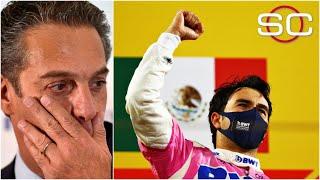 CHECO PÉREZ. Carlos Slim LLORÓ con el HISTÓRICO triunfo del mexicano en la Fórmula 1  | SportsCenter