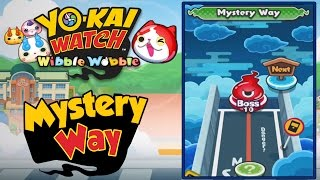 Yo-Kai Watch Wibble Wobble - Goldy Bones & Mystery Way! [iOS & Android Gameplay]